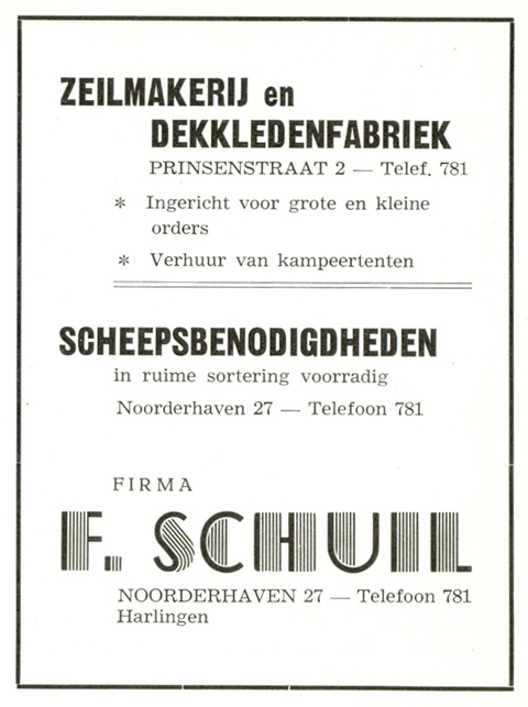 Advertentie Noorderhaven 27, Harlingen